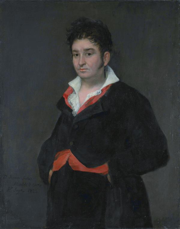 Don Ramón Satué (1765-1824), by Francisco José de Goya y Lucient