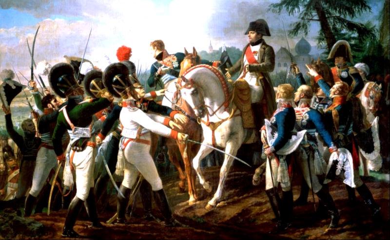 Abensberg-Napoleon-camarade