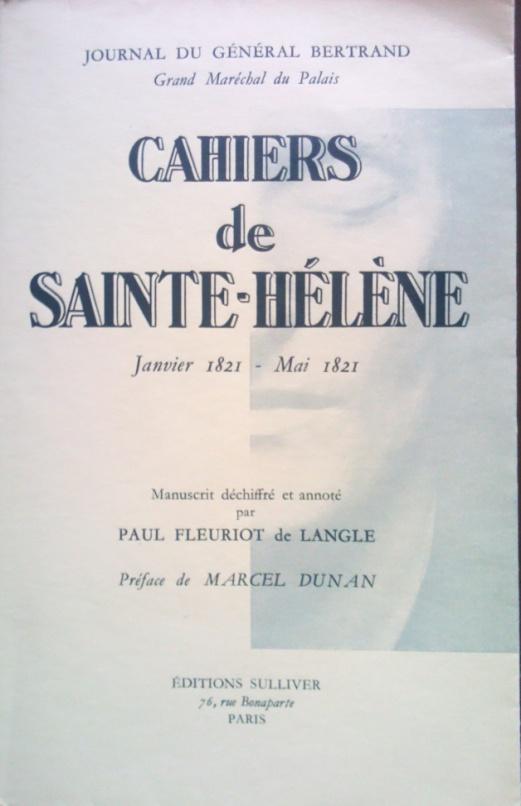 Cahiers-de-Sainte-Hélène